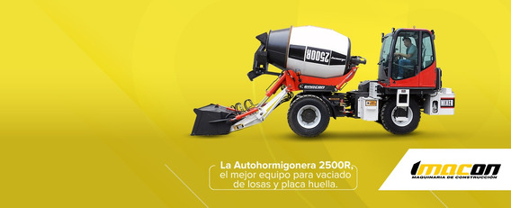 Mixer,mezcladora, Mezcladora De Concreto, Concretadora 2500r