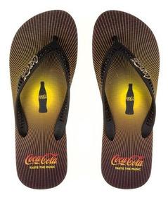 Chinelo Sandália Coca Cola Sound Masculino Cc2427