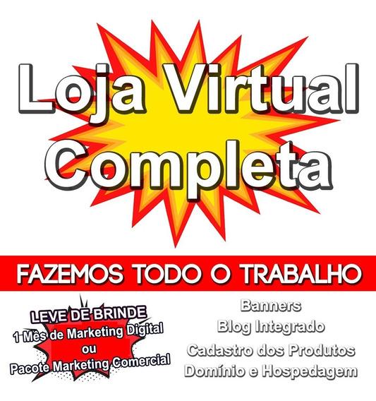 Loja Virtual Completa - Cadastramos Seus Produtos!