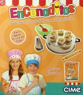 Enconaditos Cime Fabrica Pizza En Cono Tv / Open-toys 110