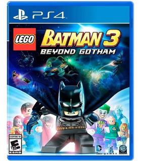 Lego Batman 3 Ps4 Cd Fisico Sellado Jazz Pc