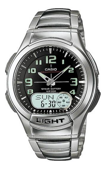 Relógio Casio Masculino Illuminator Aq-180wd-1bvdf