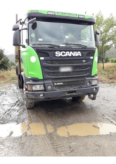 Camion Scania Forestal Con Carro
