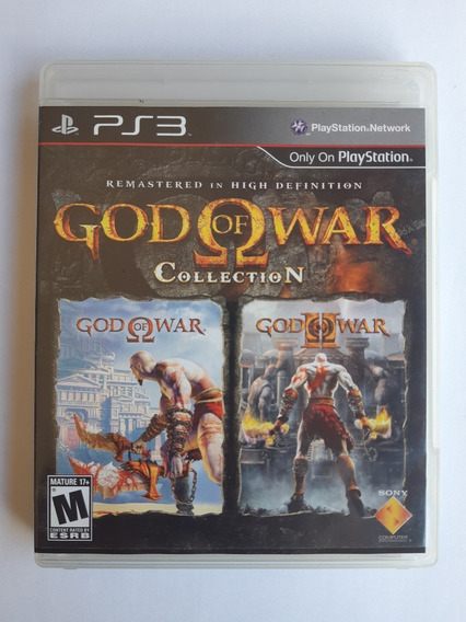 God Of War Collection - Frete Incluso
