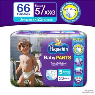 Pañales Pequeñín Pants Et5x66 - Unidad a $1003