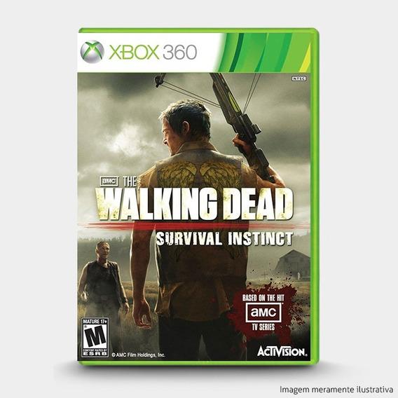 The Walking Dead Survival Instinct - Original Xbox 360 Novo
