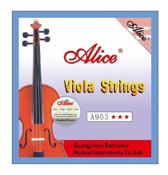Set Cuerdas Para Viola Juego Completo Excelente Calidad