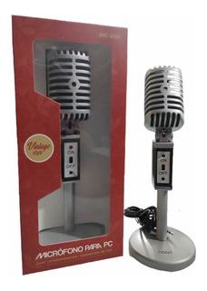 Microfono Pc Noga Cable 2mts Oferta Chat Graba Voz Conferenc
