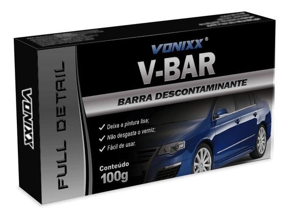 Clay Bar Vonixx V-bar Massa Barra Descontaminante V Bar 100g