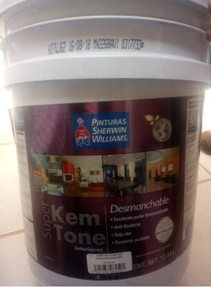 Pintura Sherwin Williams Super Kem Tone Desmanchable