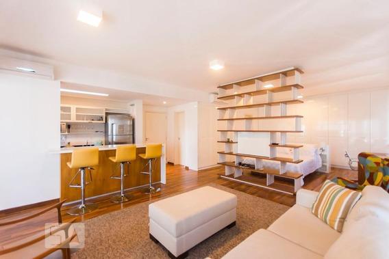 Apartamento No 13º Andar Mobiliado Com 1 Dormitório E 1 Garagem - Id: 892981432 - 281432