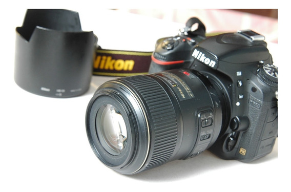 Lente Nikon 105mm 2.8 Macro Micro Af-s Vr 85mm 60mm Dentista