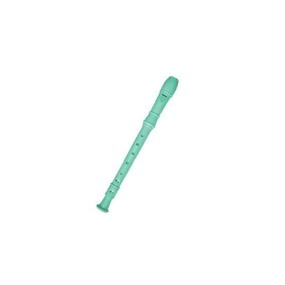 Flauta Plastica Verde