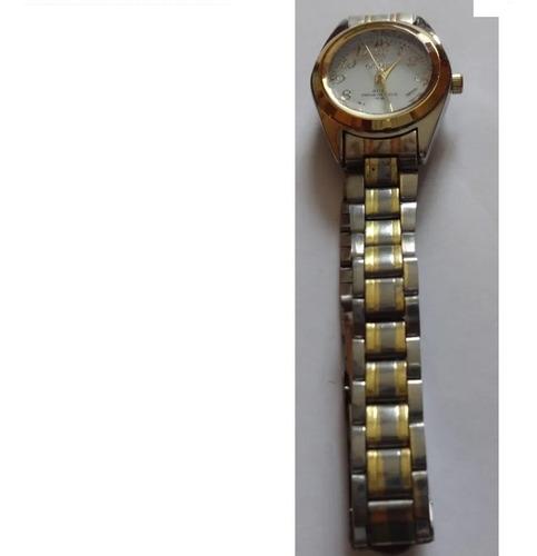 Relógio De Pulso Aço Inox  Dourado Orimet