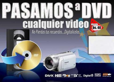 Cel 690-20546 Whatsapp Pasamos Vhs A Dvd