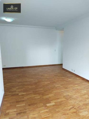 Apartamento Com 3 Dormitórios À Venda, 100 M² - Paraíso - São Paulo/sp - Ap49055