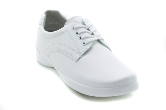 Zapatos Comodos Servicio Flexi 48304 Blanco 100% Originales!