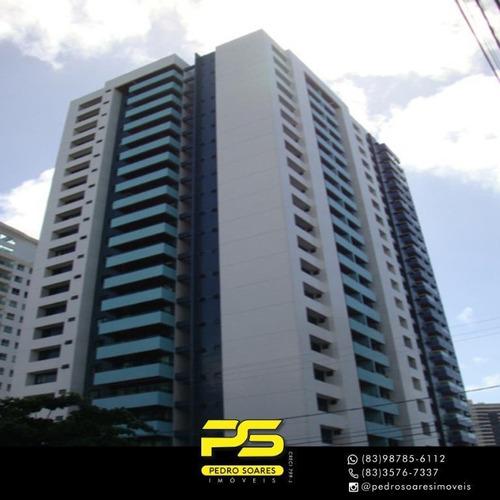 Apartamento Com 3 Dormitórios À Venda, 116 M² Por R$ 700.000 - Tambaú - João Pessoa/pb - Ap3935