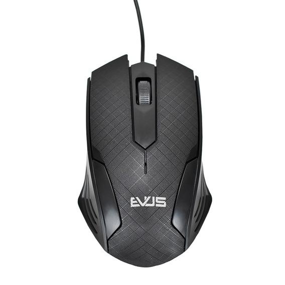 Mouse Óptico Evus Mo-05 Usb 800dpi 3 Botões Performance
