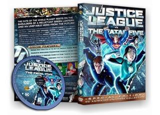 Liga Da Justiça Vs Os Cinco Fatais 2019 - Dvd