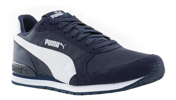 Zapatillas Puma St Runner V2 Hombre - Azul