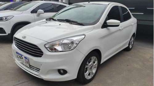 Ford Ka + Sel 2017 Blanco Nuevo Ingreso -fym