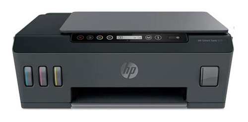 Imagem 1 de 3 de Impressora Multifuncional Hp Smart Jato De Tinta Usb E Wi-fi