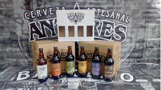 6 Cervezas Antares Envío Gratis En Zona Detallada
