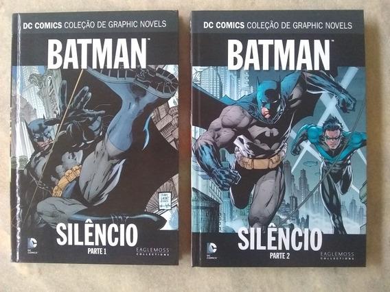 Batman Silêncio Vol. 1 E 2 Coleção Dc Seminovos
