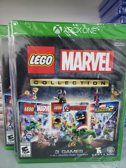 Lego Marvel Collection Xbox One Mídia Física Novo Português