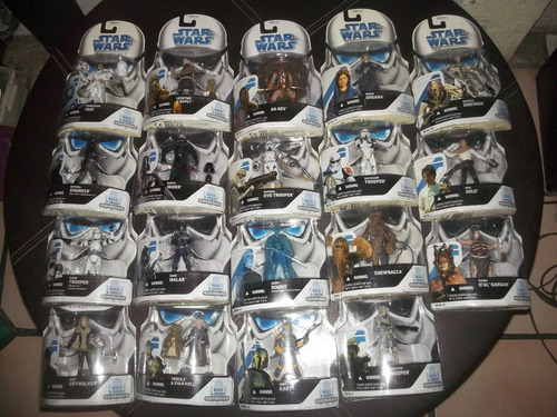 Lote De 19 Star Wars Figuras The Legacy Collection