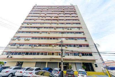 Sala Comercial Na Avenida Santos Dumont Com Banheiro Social