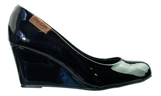 Sapato Moleca 5270.725 Verniz