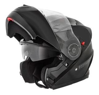 Casco Punto Extremo Xr650 Rebatible Doble Visor Negro