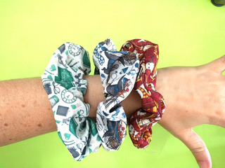 Scrunchies De Harry Potter Gryffindor Ravenclaw Slytherin