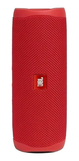Caixa de som JBL Flip 5 portátil sem fio Red