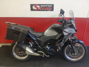 Kawasaki Versys 300x 300 X Tourer Abs 2018 Cinza