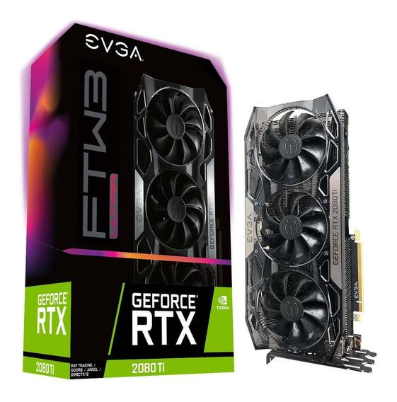Evga Geforce Rtx 2080 Ti Ftw3 Ultra Gaming, 11g-p4-2487-kr