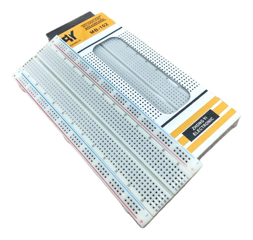 Protoboard Proto Estándar 830 Pts Breadboard 830pts Arduino
