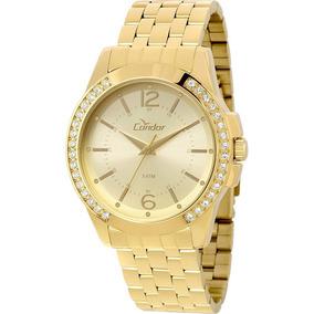 Relógio Condor Feminino Co2035kou/4d Dourado - Promo C/ Nfe