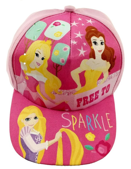 Gorra Princesa Disney Flores Memorias Infantil Original