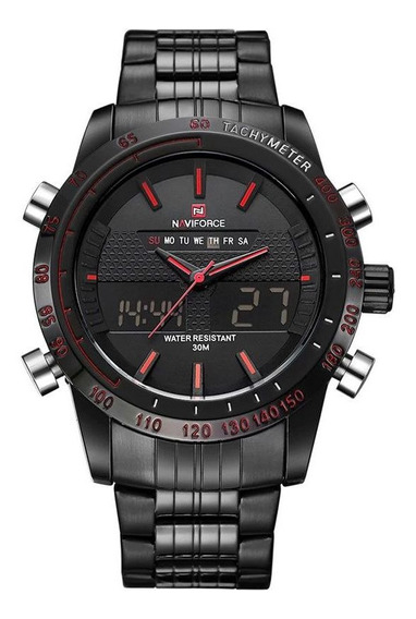 Relógio Masculino Esportivo Analogico E Digital Preto