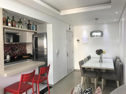 Apartamento Para Venda Em São Caetano Do Sul, Olímpico, 2 Dormitórios, 1 Suíte, 2 Banheiros, 1 Vaga - 00110_1-1734146