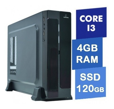 Computador Concordia - Sff Core I3 7100 4gb Ssd 120gb