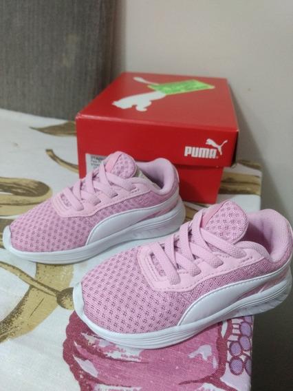 Tênis Puma Pink Número 21