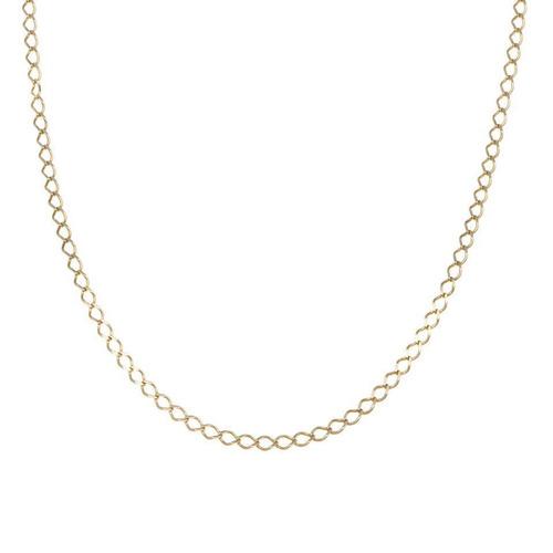 cf56bc53897b Collar De Eslabón Encontrado En Oro Amarillo.-123356440 - $ 2,093.00