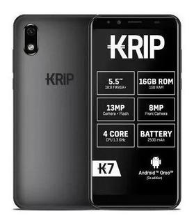 Celular Krip K7 Android 8.1 16gb Doble Sim 1gb Ram Tel 62 Vr