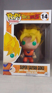 Funko Pop Super Saiayan Goku #14 - Miltienda - Dragon Ball
