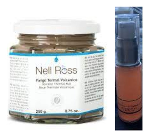 Fango Volcanico Termal Nell Ross Original X 2 Unid X 500 + De Regalo Una Vitamina C 20% 6 Cuotas Envio Gratis