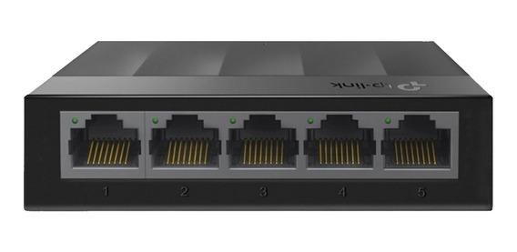 Switch De Mesa 5 Portas Gigabit 10/100/1000 Original 3 Anos